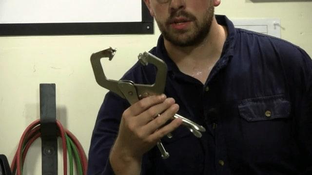 ابزار جوشکاری-گیره جوش